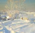 Бугаев А. «Морозный день». 1998, х., м., 67х40