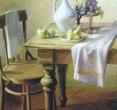 Бугаев А. «Натюрморт с фруктами». 1994, х., м., 90х70