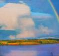 Гринин Е. «Радуга». 2009, пастель,  83x137