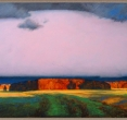Гринин Е. «Облако». 1992, пастель, 80x136
