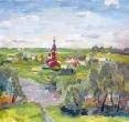 Складановская Г. «Солнечный день. Боровск». 2013, х., м., 40х60